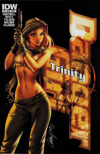 Cover for Danger Girl: Trinity (IDW, 2013 series) #1