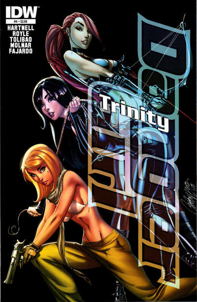 Cover for Danger Girl: Trinity (IDW, 2013 series) #4