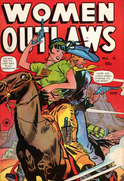 Cover for Women Outlaws (Superior, 1948 ? series) #5