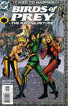 Cover for Birds of Prey (DC, 1999 series) #29