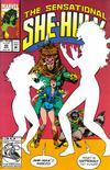 Cover for The Sensational She-Hulk (Marvel, 1989 series) #45
