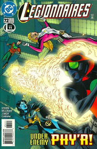 Cover Thumbnail for Legionnaires (DC, 1993 series) #72