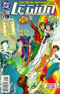 Cover for Legion of Super-Heroes (DC, 1989 series) #100
