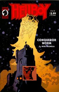 Cover Thumbnail for Hellboy: Conqueror Worm (Dark Horse, 2001 series) #4