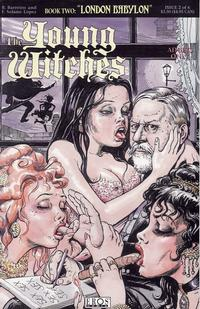 Cover Thumbnail for Young Witches: London Babylon (Fantagraphics, 1995 series) #2