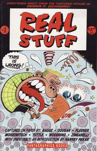 Cover Thumbnail for Real Stuff (Fantagraphics, 1990 series) #1
