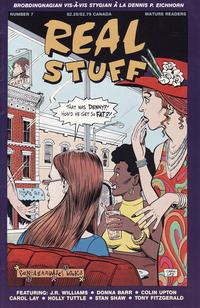 Cover Thumbnail for Real Stuff (Fantagraphics, 1990 series) #7