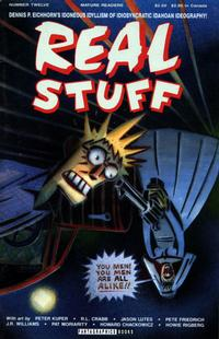 Cover Thumbnail for Real Stuff (Fantagraphics, 1990 series) #12