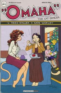 Cover for Omaha the Cat Dancer (Fantagraphics, 1994 series) #2