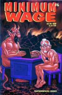 Cover Thumbnail for Minimum Wage (Fantagraphics, 1995 series) #6