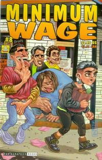 Cover Thumbnail for Minimum Wage (Fantagraphics, 1995 series) #8