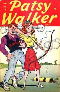 Cover Thumbnail for Patsy Walker (Marvel, 1945 series) #5
