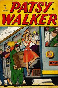 Cover Thumbnail for Patsy Walker (Marvel, 1945 series) #6