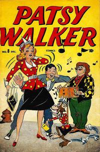 Cover Thumbnail for Patsy Walker (Marvel, 1945 series) #8