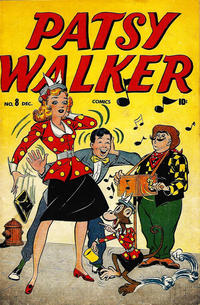 Cover Thumbnail for Patsy Walker (Marvel, 1945 series) #8