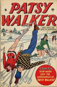 Cover Thumbnail for Patsy Walker (Marvel, 1945 series) #16