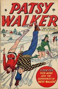 Cover Thumbnail for Patsy Walker (Marvel, 1945 series) #16