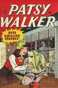 Cover Thumbnail for Patsy Walker (Marvel, 1945 series) #17