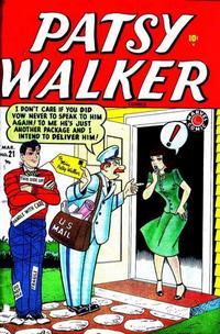 Cover Thumbnail for Patsy Walker (Marvel, 1945 series) #21