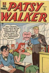 Cover Thumbnail for Patsy Walker (Marvel, 1945 series) #33