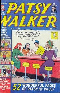 Cover Thumbnail for Patsy Walker (Marvel, 1945 series) #34