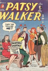 Cover Thumbnail for Patsy Walker (Marvel, 1945 series) #38