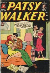 Cover Thumbnail for Patsy Walker (Marvel, 1945 series) #42