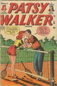 Cover Thumbnail for Patsy Walker (Marvel, 1945 series) #43