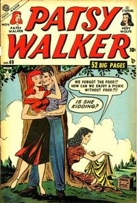 Cover Thumbnail for Patsy Walker (Marvel, 1945 series) #49
