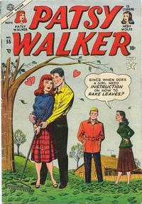 Cover Thumbnail for Patsy Walker (Marvel, 1945 series) #55
