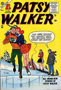Cover Thumbnail for Patsy Walker (Marvel, 1945 series) #58