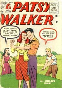 Cover Thumbnail for Patsy Walker (Marvel, 1945 series) #61