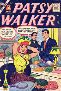 Cover Thumbnail for Patsy Walker (Marvel, 1945 series) #72