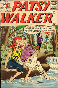 Cover Thumbnail for Patsy Walker (Marvel, 1945 series) #74
