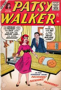 Cover Thumbnail for Patsy Walker (Marvel, 1945 series) #81