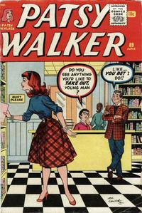 Cover Thumbnail for Patsy Walker (Marvel, 1945 series) #89
