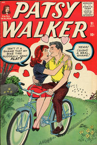 Cover Thumbnail for Patsy Walker (Marvel, 1945 series) #91