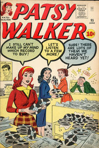 Cover Thumbnail for Patsy Walker (Marvel, 1945 series) #95