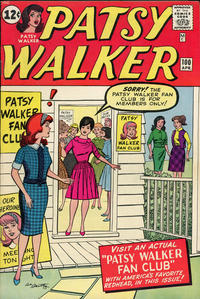 Cover Thumbnail for Patsy Walker (Marvel, 1945 series) #100
