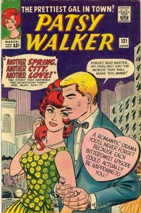 Cover Thumbnail for Patsy Walker (Marvel, 1945 series) #121