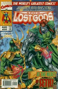 Cover for Journey into Mystery (Marvel, 1996 series) #511