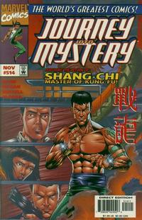 Cover for Journey into Mystery (Marvel, 1996 series) #514
