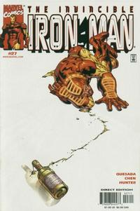 Cover Thumbnail for Iron Man (Marvel, 1998 series) #27 [Direct Edition]