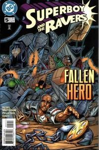 Cover Thumbnail for Superboy and the Ravers (DC, 1996 series) #5