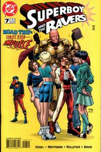 Cover Thumbnail for Superboy and the Ravers (DC, 1996 series) #7