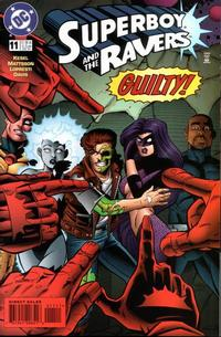 Cover Thumbnail for Superboy and the Ravers (DC, 1996 series) #11