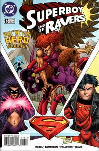 Cover Thumbnail for Superboy and the Ravers (DC, 1996 series) #13