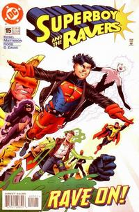 Cover Thumbnail for Superboy and the Ravers (DC, 1996 series) #15