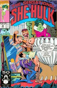 Cover Thumbnail for The Sensational She-Hulk (Marvel, 1989 series) #25