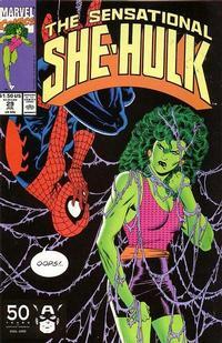 Cover Thumbnail for The Sensational She-Hulk (Marvel, 1989 series) #29